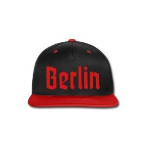 BERLIN Fracture Font - Snap-back Baseball Cap