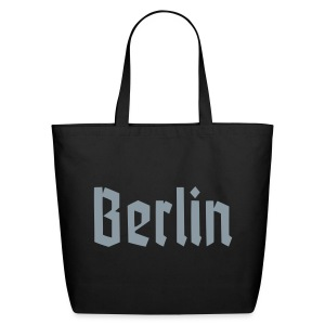 BERLIN Fracture Font - Eco-Friendly Cotton Tote