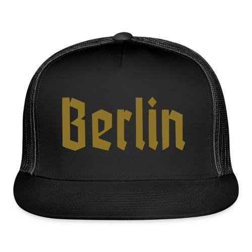 BERLIN Fracture Font - Trucker Cap
