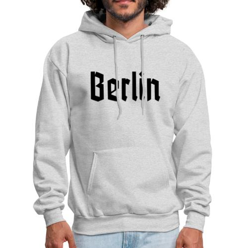 BERLIN Fracture Font - Men's Hoodie
