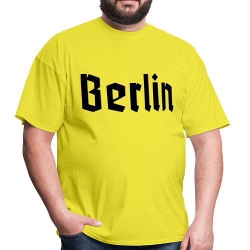 BERLIN Fracture Font - Men's T-Shirt