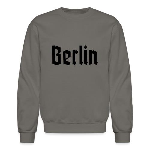 BERLIN Fracture Font - Crewneck Sweatshirt