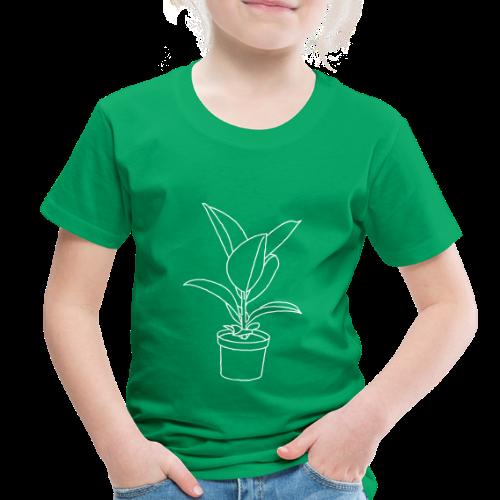 Rubber tree / Houseplant - Toddler Premium T-Shirt
