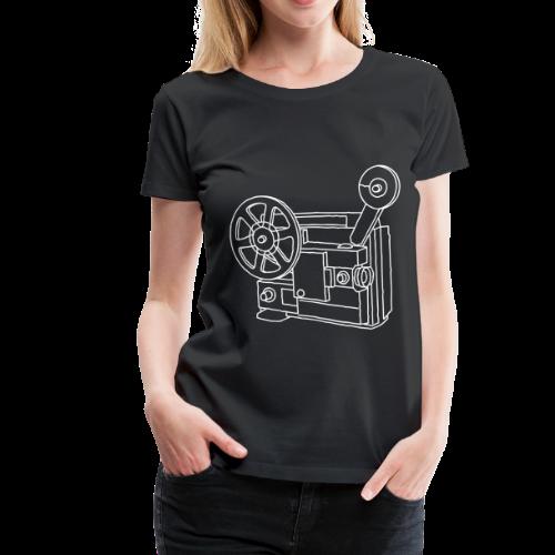 Movie Projector Super 8 - Women's Premium T-Shirt