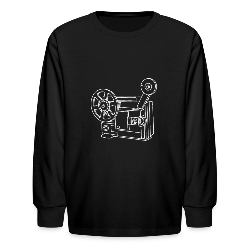 Movie Projector Super 8 - Kids' Long Sleeve T-Shirt
