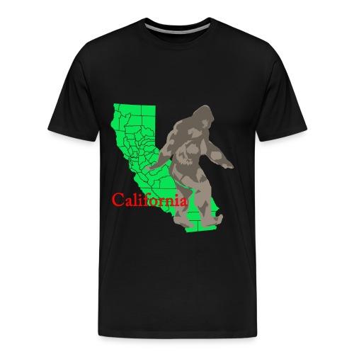 California Bigfoot - Men's Premium T-Shirt