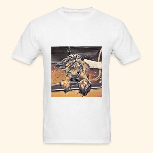 Wet Cat Meme Tee - Men's T-Shirt