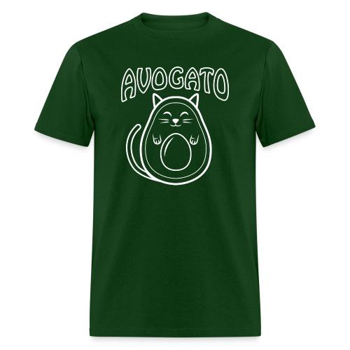 Cute Avogato T-shirt (white outline version) - Men's T-Shirt