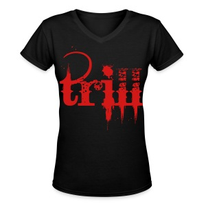 trill - Women's V-Neck T-Shirt