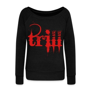 trill - Women's Wideneck Sweatshirt