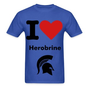 I Heart Herobrine - Men's T-Shirt