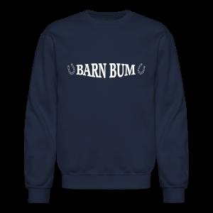 Barn Bum with horseshoe sides  - Crewneck Sweatshirt