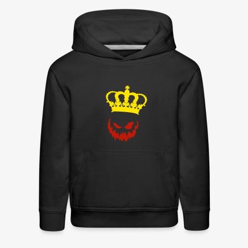 DeadlyPsyko's Pumpkin King Smile Kids Hoodie - Kids' Premium Hoodie