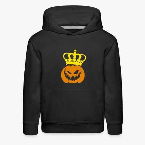 DeadlyPsyko's Pumpkin King Kids Hoodie - Kids' Premium Hoodie