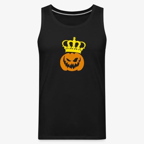 DeadlyPsyko's Pumpkin King Tank Top - Men's Premium Tank