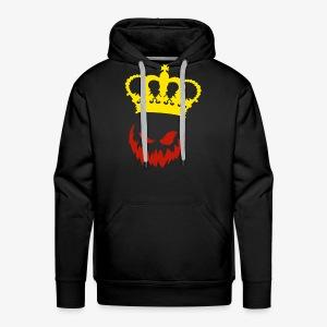 DeadlyPsyko's Pumpkin King Smile Hoodie - Men's Premium Hoodie