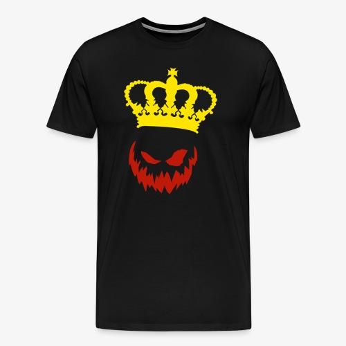 DeadlyPsyko's Pumpkin King Smile Shirt - Men's Premium T-Shirt