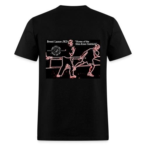 Home of the Shin-Knee Sidekick - Men's T-Shirt
