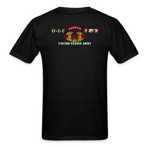 OIF Sapper - Back only - Men's T-Shirt