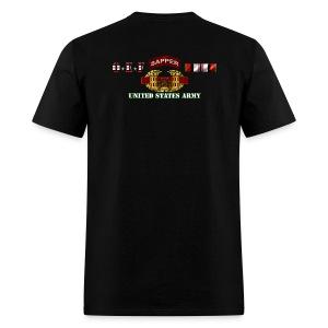 OEF Sapper - Back only - Men's T-Shirt