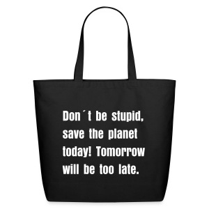 Save the planet bag - Eco-Friendly Cotton Tote