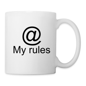 My rules @ mug - Coffee/Tea Mug