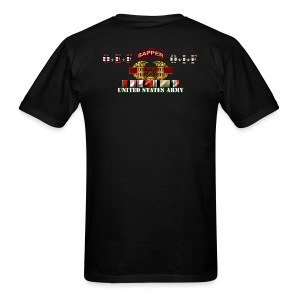 OEF & OIF Sapper - Back Only - Men's T-Shirt