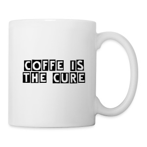 Coffee/Tea Mug - the cure for your day.
