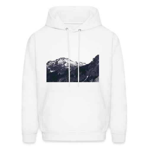 Mountains - Men's Hooded - Men's Hoodie