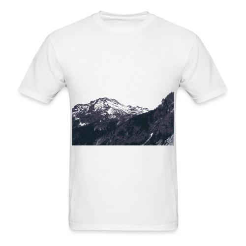 Mountains - Men's Standard Weight Tee - Men's T-Shirt