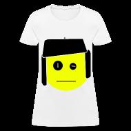 T-Shirts ~ Women's T-Shirt ~ BLANK FACE T-Shirt