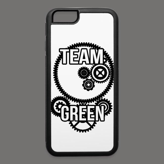 Greenish Team Green Steampunk 6/6s Case