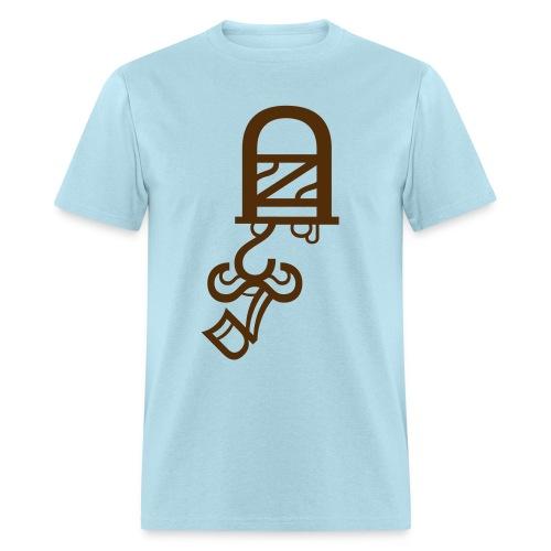 Constable (Brown) Men's Standard Weight T-Shirt - Men's T-Shirt