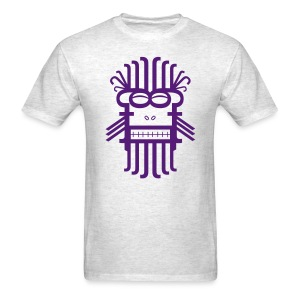 Letter Monster (Purple) Men's Standard Weight T-Shirt - Men's T-Shirt