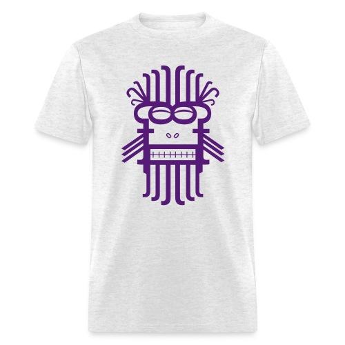 Letter Monster (Purple) Men's Standard Weight T-Shirt - Men's T-Shirt