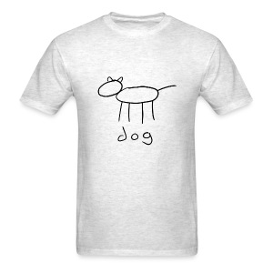 dog shirt - Men's T-Shirt
