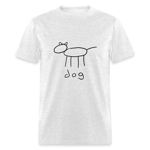 dog shirt - Men's T-Shirt