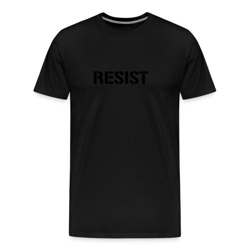 * RESIST stencil font *  - Men's Premium T-Shirt