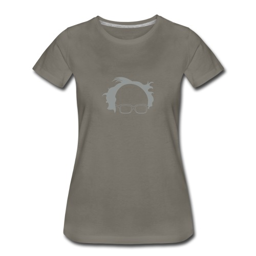* Bernie : Revolution * (velveteen.print)  - Women's Premium T-Shirt