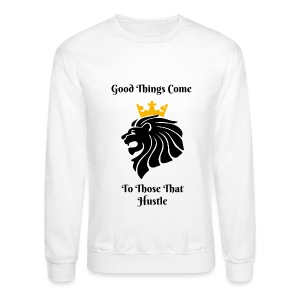 Hustle King Sweatshirt - Crewneck Sweatshirt