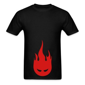 Fire Crotch (Red) Men's Standard Weight T-Shirt - Men's T-Shirt