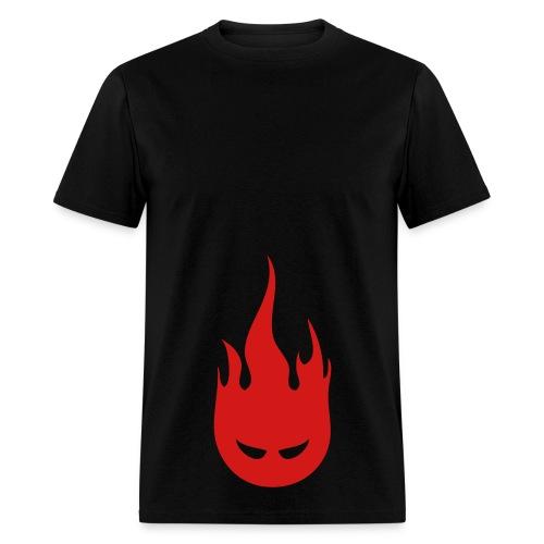 Fire Crotch (Red) Men's Standard Weight T-Shirt - Men's T-Shirt