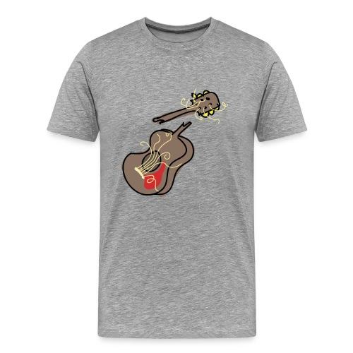 Busted Guitar - Men's Premium T-Shirt
