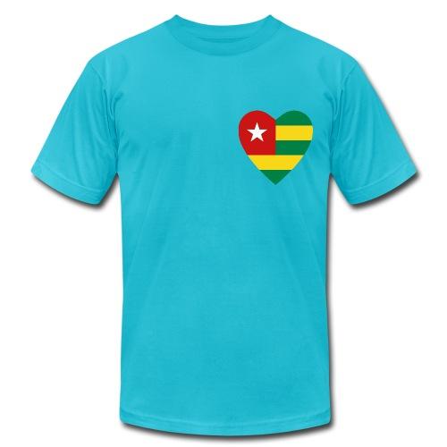 Togo Heart - Men's  Jersey T-Shirt