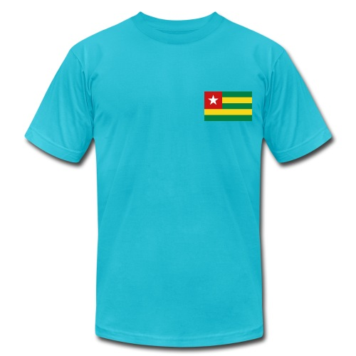 Togo Flag - Men's Fine Jersey T-Shirt