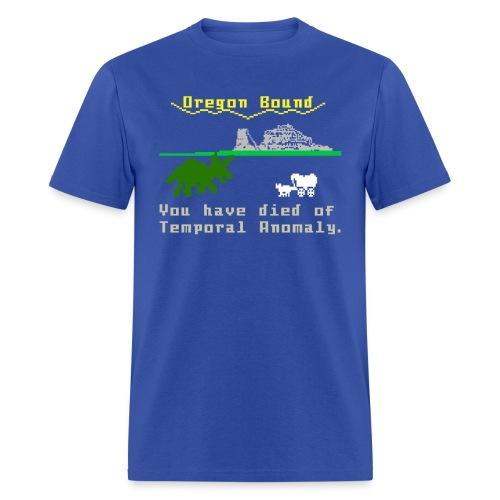 Temporal Anomaly shirt - Men's T-Shirt