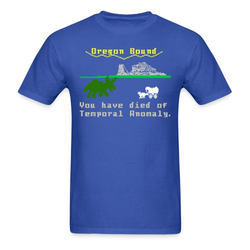 Temporal Anomaly shirt - Men's T-Shirt