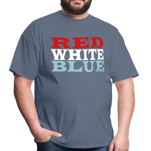REDneck WHITEtrash BLUEcollar - Men's T-Shirt
