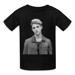 Kids MattyB BW Faceprint - Kids' T-Shirt