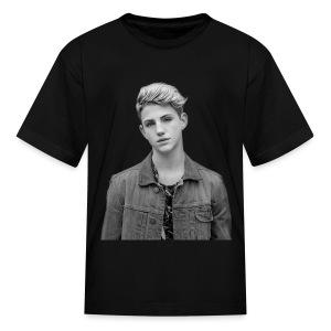 Kids MattyB BW Faceprint - Kids' T-Shirt